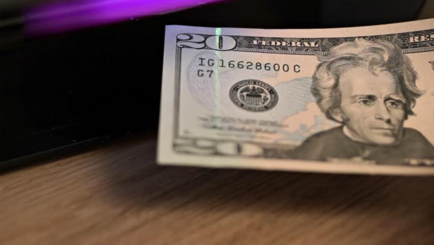 Us 20 Dollar Bill Under Stock Footage Video (100% Royalty-free) 1946599 |  Shutterstock