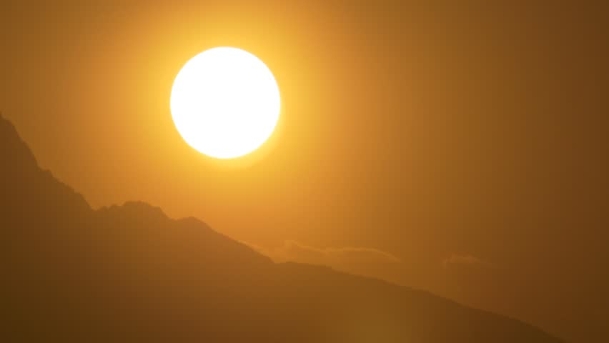 Close Up Heavenly Sun Rise Sunrise Time Lapse timelapse closeup 4k close-up sunset sun set clean natural energy  #19755589