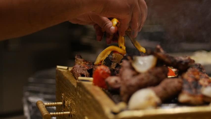 Egypt BBQ restaurant macro plan