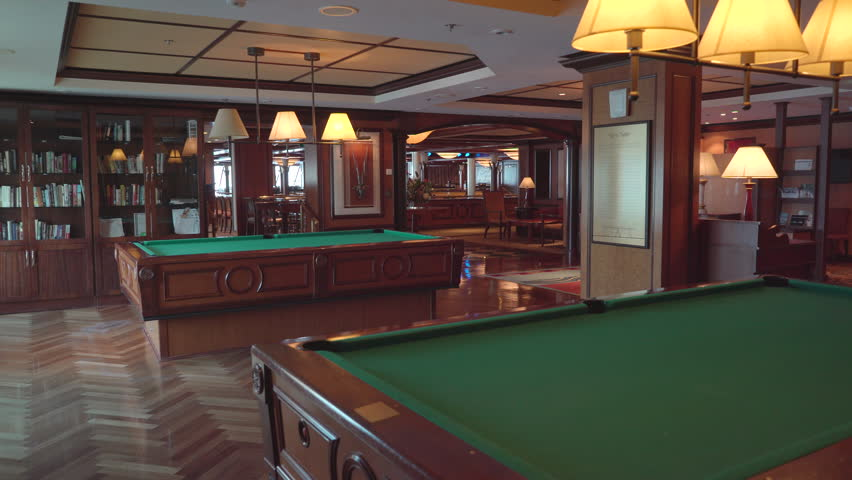 Stock Video Of K Club For A Game Of Shutterstock - Cruise ship pool table