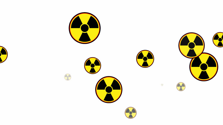 Stock Video Clip Of Symbol Of Biological Threats Signs Warning Of