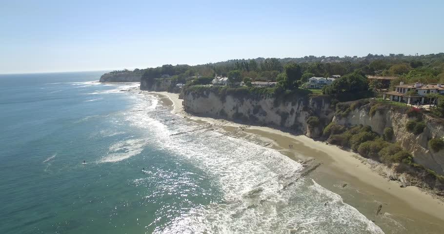 Paradise Cover Beach Malibu Aerial 1