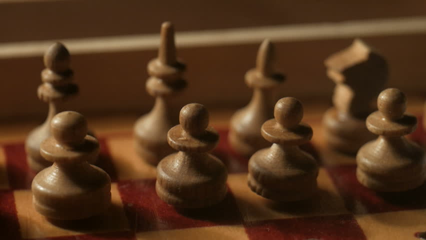 chess pieces. Pan | Shutterstock HD Video #20295499