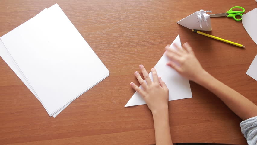 Little Boy Drawing On Paper Stock Footage Video 100 Royalty Free