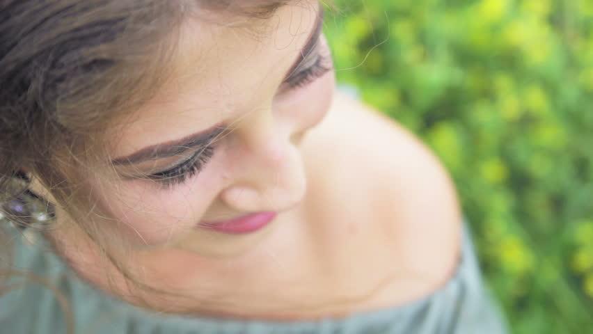 Portrait of beautiful girl outdoors | Shutterstock HD Video #20367529