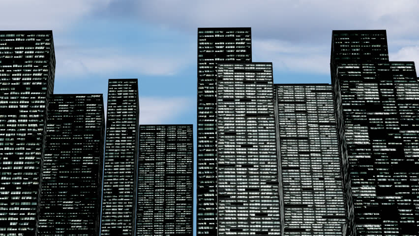 Office Building Stock Footage
