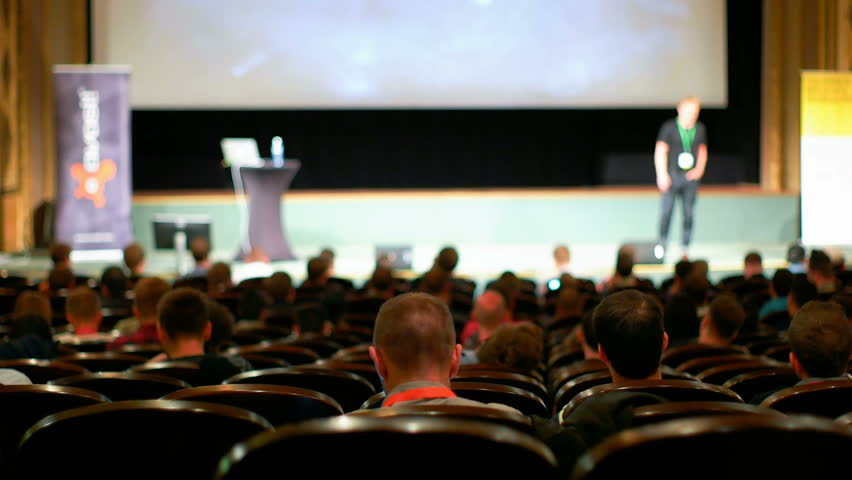Crowd of People at the Conference | Shutterstock HD Video #20451529