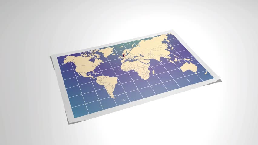 World map with close up in pushpin in rome italy 3d rendering world map with close up in pushpin in paris france 3d rendering gumiabroncs Choice Image