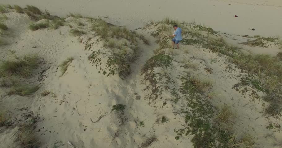 Couple having fun on the dune | Shutterstock HD Video #20541421