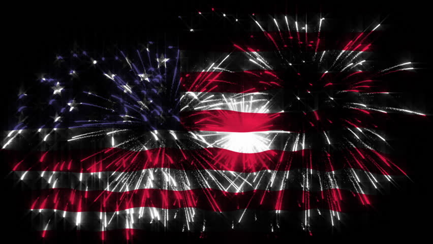 Election day fireworks celebrate president of United States of America  | Shutterstock HD Video #20593000