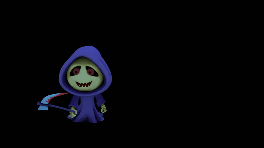 Grim Reaper Cartoon  the Evil Stock Footage Video (100% Royalty-free)  20611699 | Shutterstock