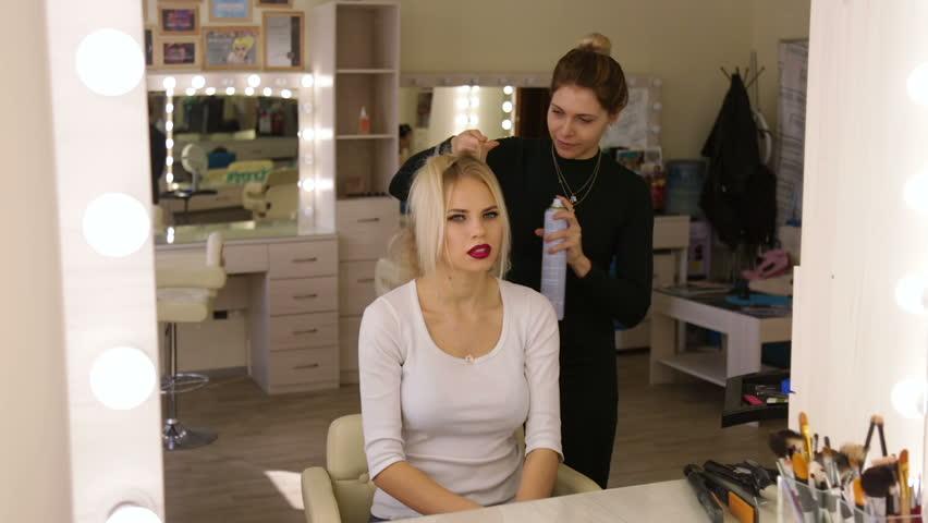 Image result for blonde hairdresser