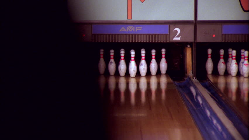 A Seamlessly Loopable 3d Animation Of A Bowling Alley In
