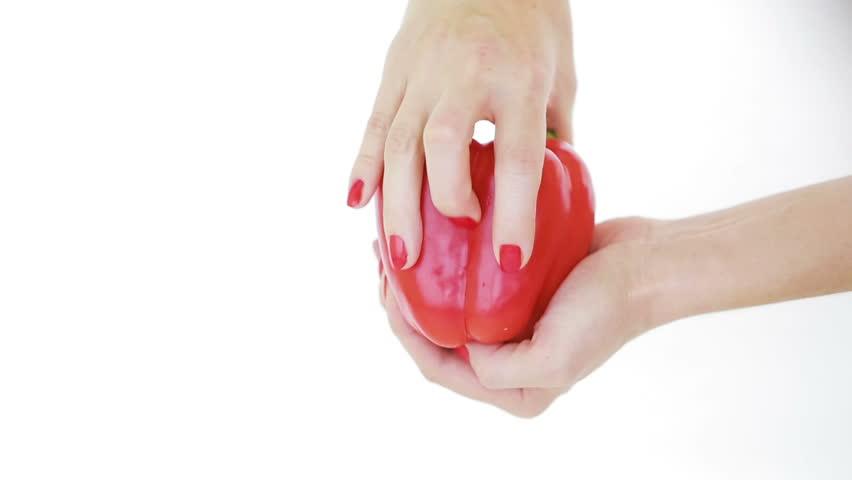 Female hand masturbation video