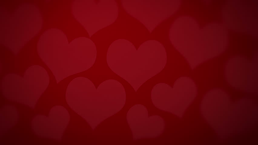Valentines Background  Beautiful Red Hearts Stock Footage Video 20760949 |  Shutterstock