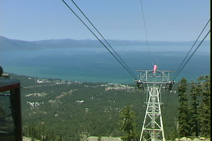 LAKE TAHOE, CALIFORNIA - CIRCA 2007: Heavenly Tram