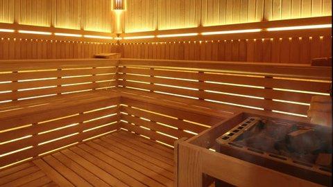 Steam at the Sauna