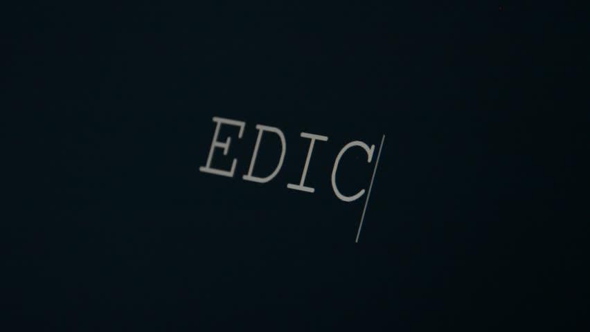 Header of Edict