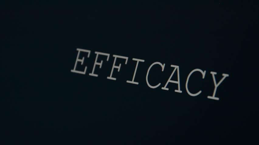 Header of efficacy