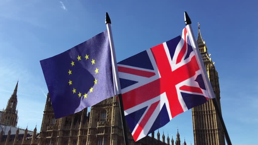 Image result for U.K. parliament, with flags, photos
