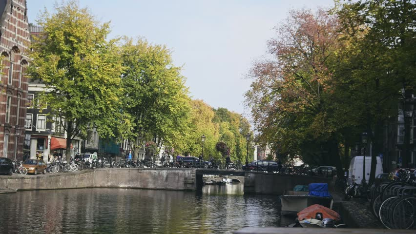 17 october 2016 amsterdam the netherlands bridge on amstel canal holland - Bamboo Garden 2016