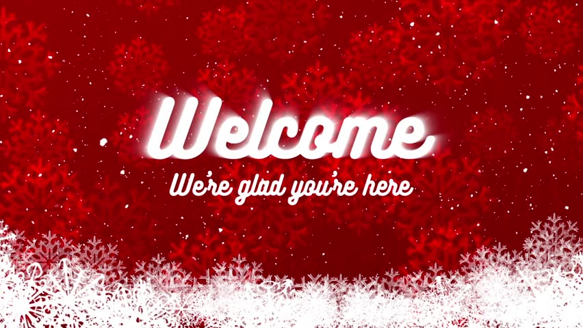 Welcome Christmas.Winter And Christmas Holidays Welcome Stock Footage Video 100 Royalty Free 21237289 Shutterstock