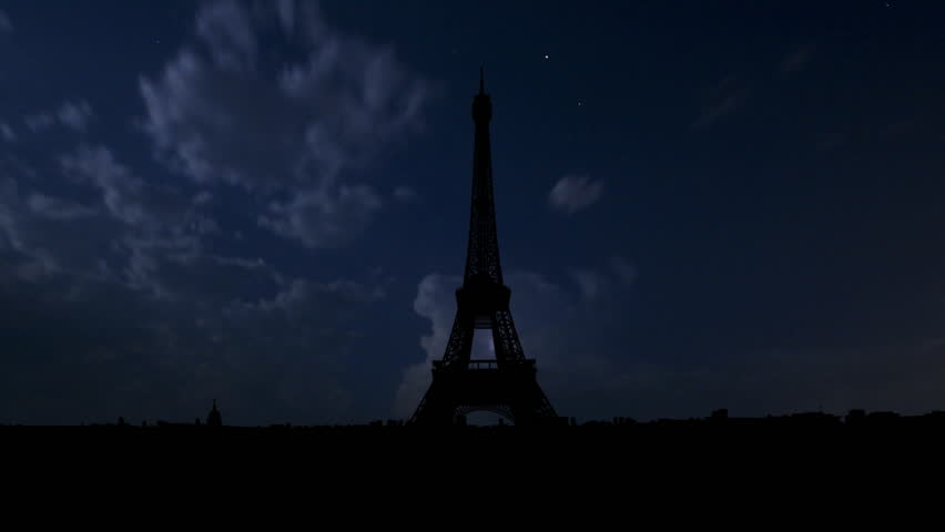 The Eiffel Tower is the most recognizable landmark of Paris, France. Built in 1889 as the entrance arch to the 1889 World's Fair it have become the world known attraction.    | Shutterstock HD Video #2124269