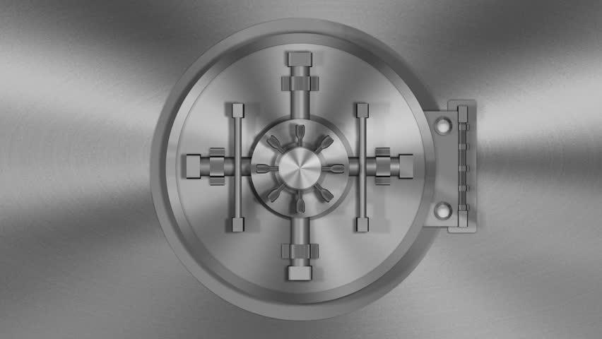 Bank vault full of money ~ HD &amp- 4K Stock Footage #000588623