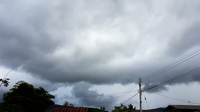 Real Rain Cloud rain clouds, timelapse, nature, real full hd video, fast moving