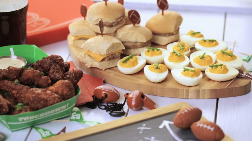 Mehndi Party Snacks : Muslim mehndi cake pull focus stock footage video