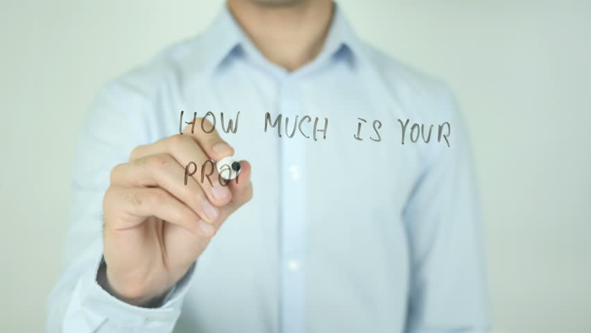 How Much is Your Property Worth?, Writing On Transparent Screen