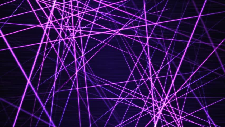 Moving through Light/Laser Beams Animation Animation - Loop Purple | Shutterstock HD Video #21521917