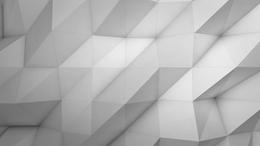 grey abstract tech geometric motion background. video animation