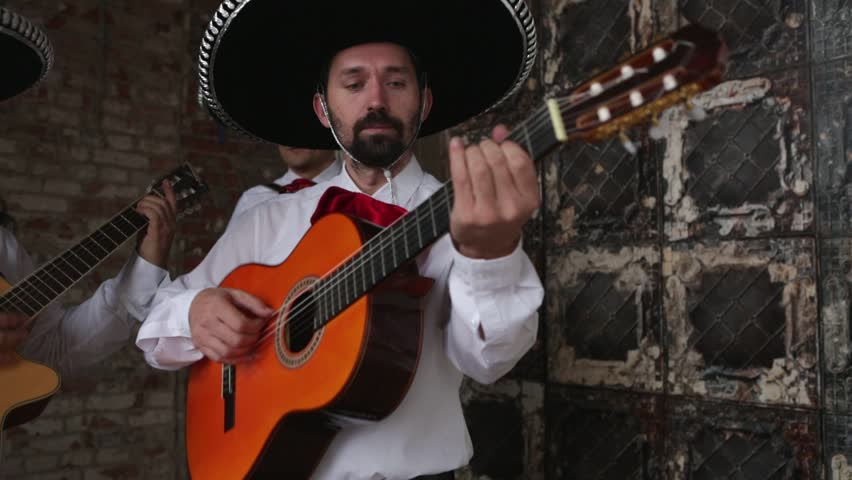 Mexican Musician Playing Guitar and Stock Footage Video (100% Royalty-free)  21522769 | Shutterstock