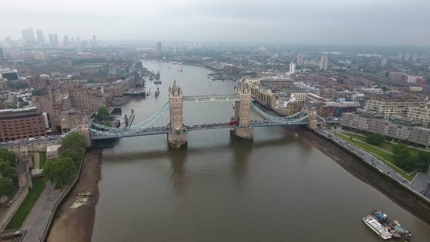 Aerial View London  | Shutterstock HD Video #21607099