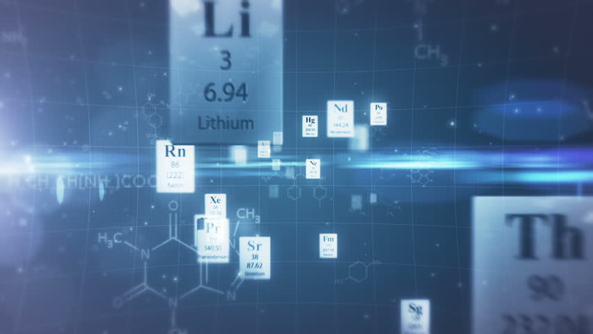 Stock video of scientific backgroundrough the elements of stock video of scientific backgroundrough the elements of periodic 2170529 shutterstock urtaz Images