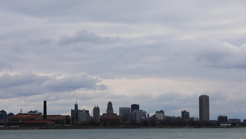 4K UltraHD Timelapse of the Buffalo, New York skyline   Shutterstock HD Video #21738529