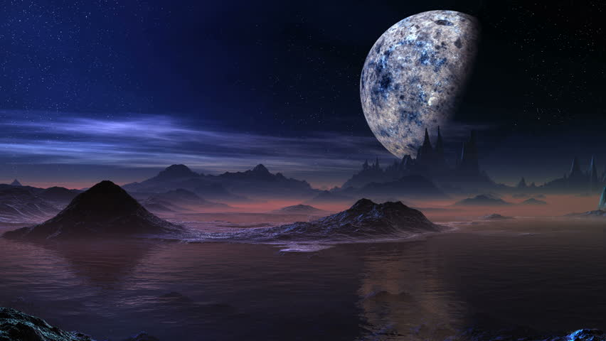 alien water planet - photo #7