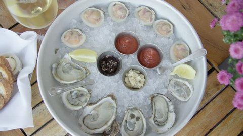 Oysters and Clams