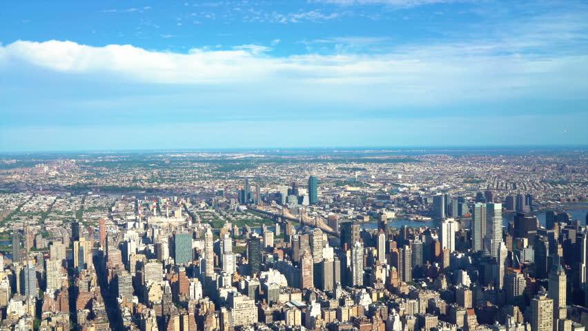 Aerial view of Midtown Manhattan, New York #21843199