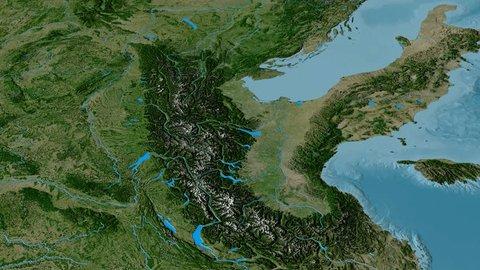Revolution Around Alps Mountain Range Stockvideos & Filmmaterial ...