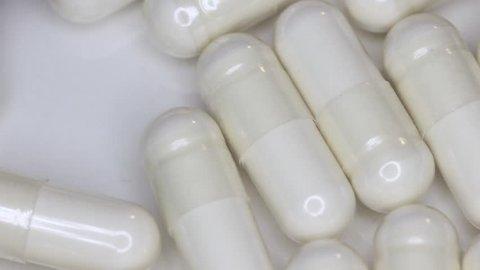 White Pill Tablet Capsule