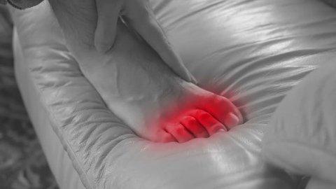 Toe pain, gout or foot fungus