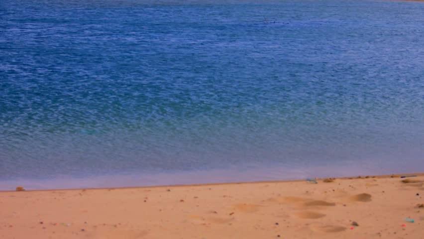 Fresh water lake, South of Israel