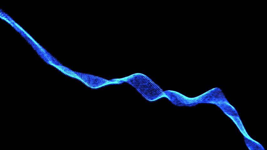 4k0010Glowing Wave Form Particle 3D Render Look Like Spider Web Smooth Flowing With Moving Camera Abstract Background Animation Motion Graphic Suite For