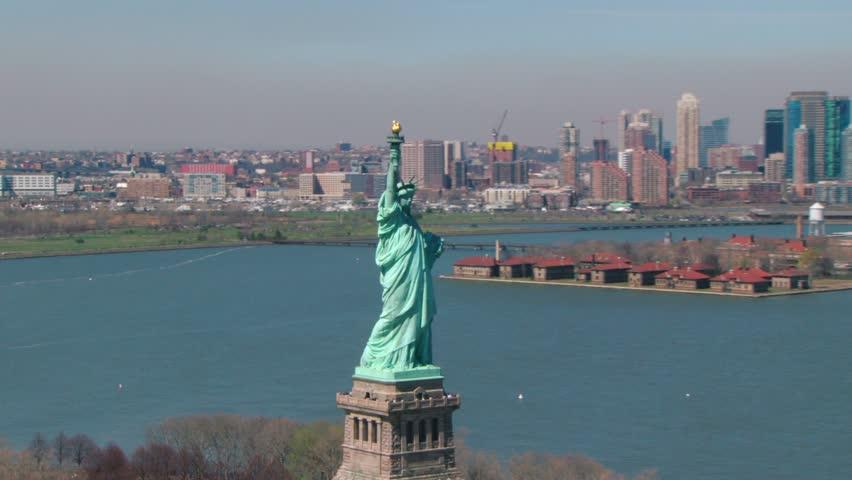 Circling statue of liberty | Shutterstock HD Video #22310419