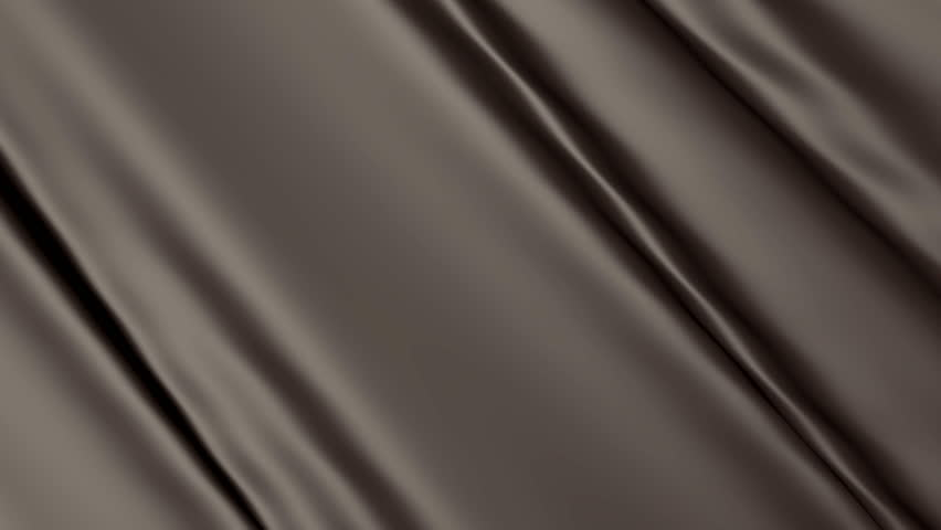 Decorative Cloth Chocolate Brown. Background Fabric Patterned 3D ...
