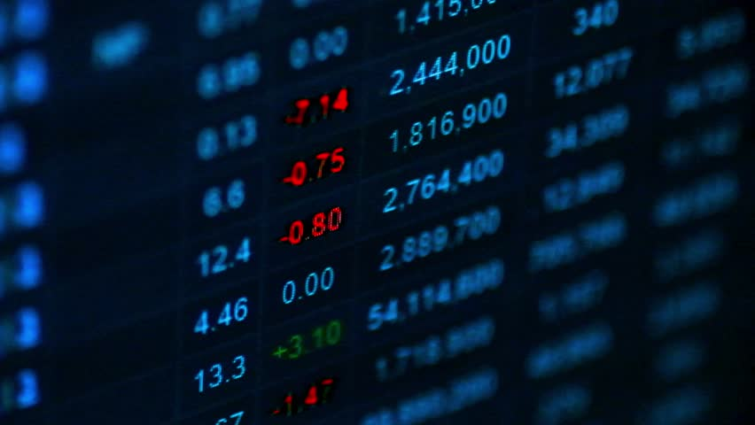 Data analyzing ,Commodities,Emerging and Fixed Income  | Shutterstock HD Video #22583725
