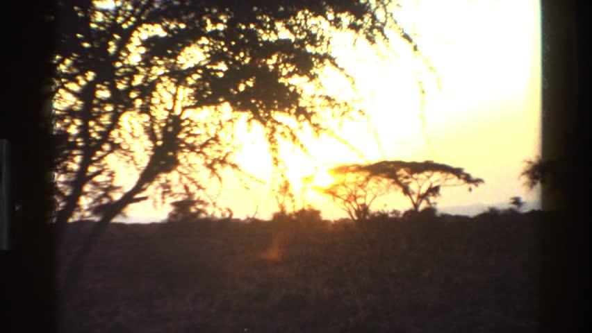 MARA TANZANIA 1983: sun getting down #22595629