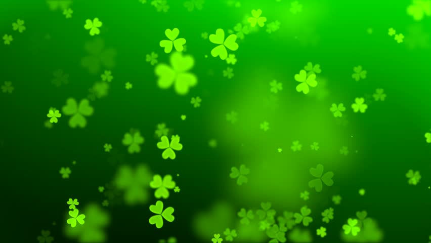 Green hearts on the day of St. Patrick   Shutterstock HD Video #22627309